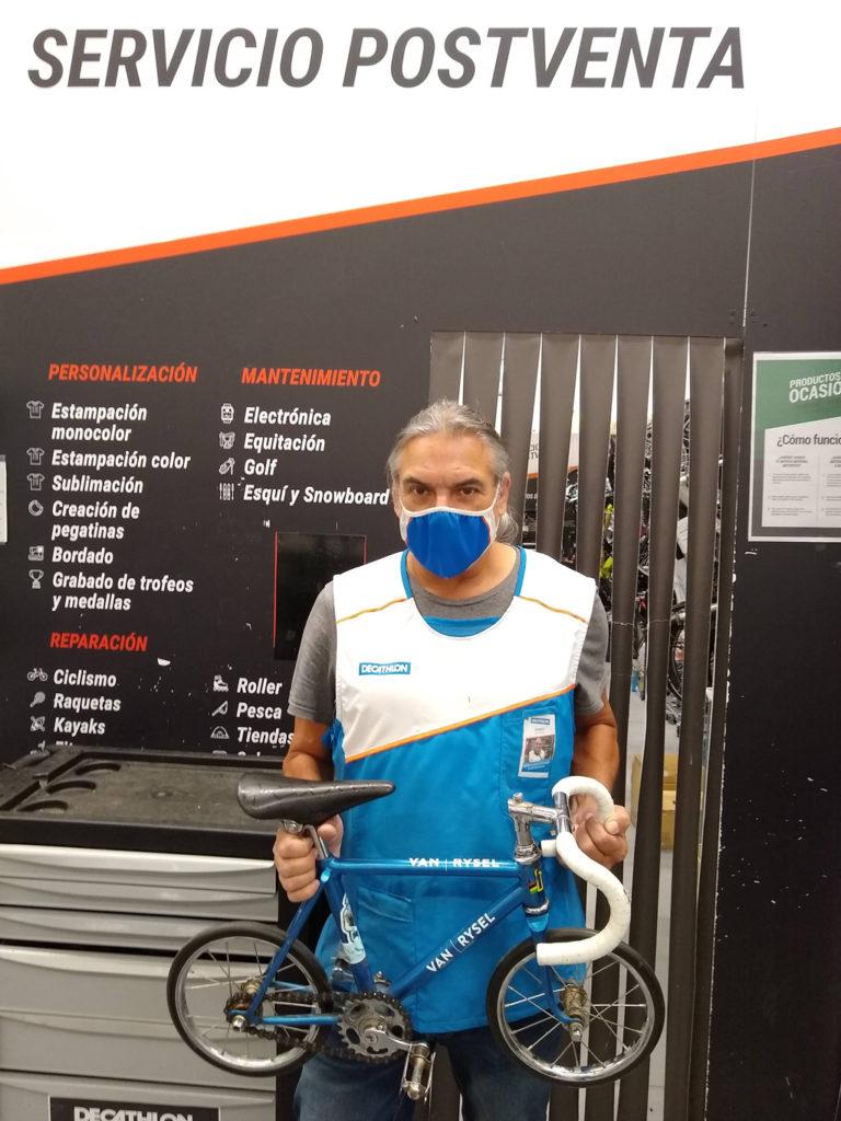 Ricardo, une vie à vélo